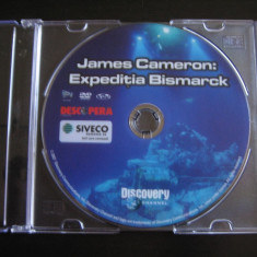 James Cameron: Expeditia Bismark - DVD - Film documentare Altele, Romana