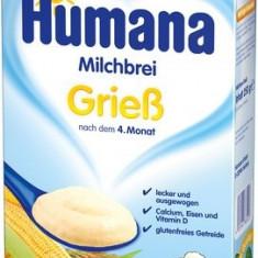 Humana cereale cu gris si vanilie 250 gr Germania - Cereale copii Humana, De la 6 luni