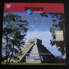 Cautatori de comori: Thomson si fantana sfanta - DVD - Film documentare Altele, Romana