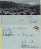 Brasov, Kronstadt -Vedere generala- clasica, 1899, Circulata, Printata