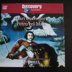 Mari cuceritori: Petru cel Mare- DVD - Film documentare Altele, Romana