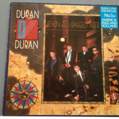 DURAN DURAN - SEVEN and the RAGGED TIGER (1983 / EMI REC/ RFG) - VINIL/IMPECABIL - Muzica Rock emi records