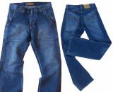 Blugi barbati - FARMs jeans Model ALIN W 31,32,33 (Art. 291-294), Albastru