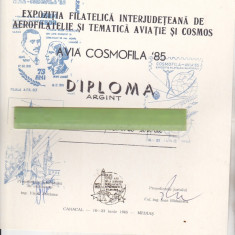 Bnk fil Diploma Expo fil Avia cosmofia 85 Caracal Medias