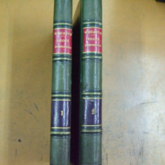 H. Wheaton Elements de droit international 2 volume Leipzig 1864 - Carte Drept international