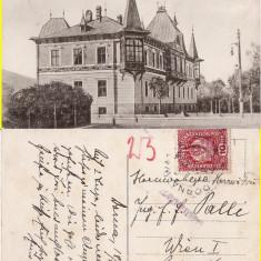 Vatra Dornei (Bucovina, Suceava)- Hotel -rara - Carte Postala Bucovina 1904-1918, Circulata, Printata
