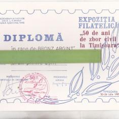 Bnk fil Diploma Expo fil 50 de ani zbor civil in Timisoara