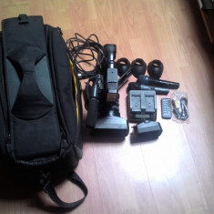Camera video sony hvr v1e, Sub 2 inch
