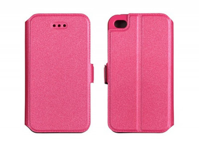 Husa Samsung Galaxy S4 i9500 Flip Case Inchidere Magnetica Pink foto