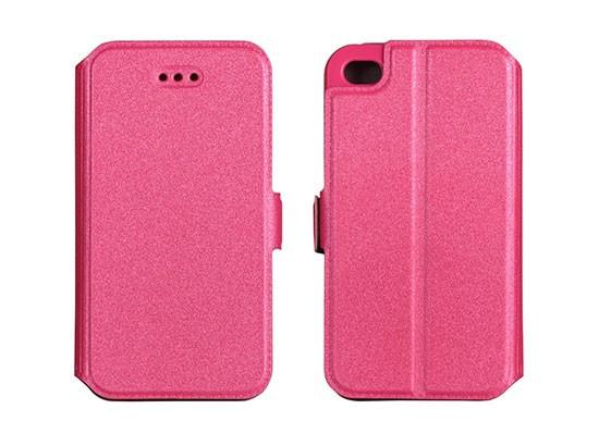 Husa Samsung Galaxy S4 i9500 Flip Case Inchidere Magnetica Pink foto mare