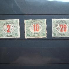 ROMANIA 1919 / 3 VAL NESTAMPILATE, PORTO, EMISIUNEA ORADEA - Timbre Romania