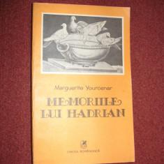 Memoriile lui Hadrian - Marguerite Yourcenar - Biografie