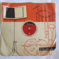 RAR! DISC EBONITA ANII 50:IANCSI KOROSSY, IULIU BALOGH, BOB IOSIFESCU, GABI MEZEI - Muzica Jazz electrecord, Alte tipuri suport muzica