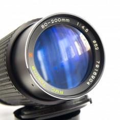 Obiectiv Tokina RMC 80-200 4.5 montura Canon FD adaptabil digital