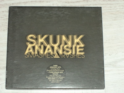 CD+DVD original Skunk Anansie - Smashes and Thrashes foto