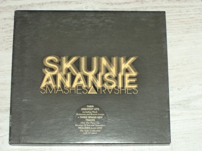 CD+DVD original Skunk Anansie - Smashes and Thrashes foto mare