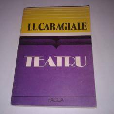 I.L.CARAGIALE - TEATRU + critica - Carte Teatru