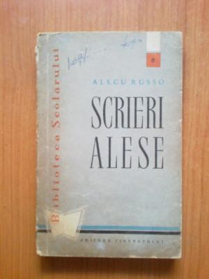 n3 SCRIERI ALESE - Alecu Russo foto