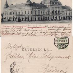 Oradea - clasica - Carte Postala Crisana pana la 1904, Circulata, Printata