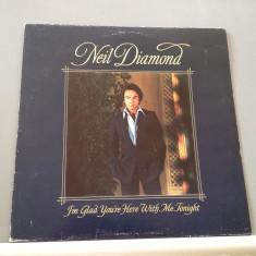 NEIL DIAMOND - I'M GLAD YOU'RE..(1977/ CBS REC /HOLLAND )- VINIL/VINYL/IMPECABIL - Muzica Rock Columbia