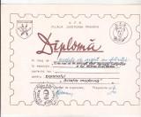 Bnk fil Diploma Expozitia filatelica Mircea Zorileanu Ploiesti 1985