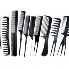 Set 10 piepteni pentru frizerie