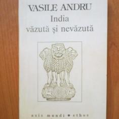 H1a India vazuta si nevazuta - Vasile Andru - Carti Hinduism