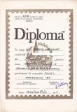 bnk fil Diploma Expozitia filatelica Mediensfila 84 Medias