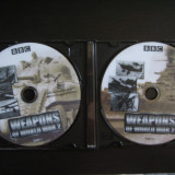 BBC Weapons of World War 2 - 2 DVD-uri