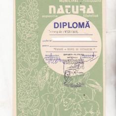 Bnk fil Diploma Expozitia filatelica Natura Timisoara 1994 (2)