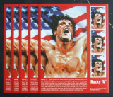ST. VINCENT& THE GRENADINES - S. STALLONE ROCKY IV 5 M/SH, NEOBLITERATE - D 091