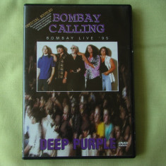 DEEP PURPLE - Bombay Calling '95 Live - DVD Original - Muzica Rock Eagle