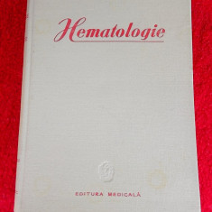 HEMATOLOGIE - C. T. Nicolau, STARE FOARTE BUNA .