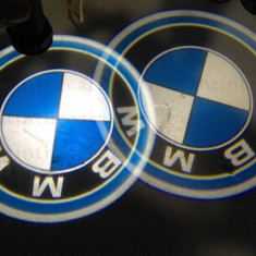Set 2x Proiector LED LOGO BMW masina pentru portiere, sigla BMW - Proiectoare tuning, Universal