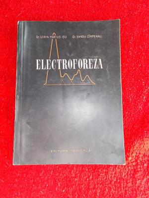 ELECTROFOREZA -Dr.Sorin Marius Idu si dr.Sandu Cimpeanu foto