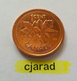 Moneda 1 Cent - Canada 1999 (*cod 689) UNC, America de Nord