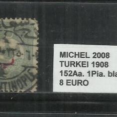 TURCIA 1908 - 152 Aa. 1 PIA., Stampilat