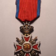 Ordinul Coroana Romaniei Cavaler Model de Razboi Email Perfect