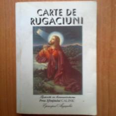 N4 Carte de rugaciuni (Tiparita cu binecuvantarea Sfintitului Calinic Episcopul