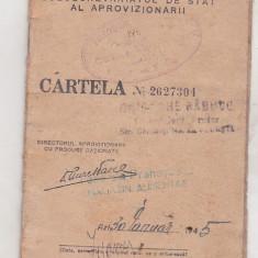 Bnk div - Cartela alimente 1945 - folosita - Cartela telefonica romaneasca