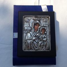 Icoana argint bizantina facuta din argint 950, adusa din grecia - Icoana din metal
