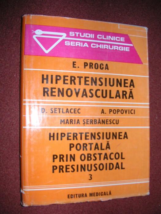 Hipertensiunea renovasculara - E. Proca foto mare