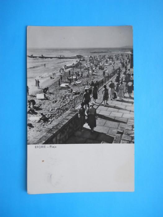 HOPCT 5081  EFORIE -PLAJA   IN ANUL 1964-JUD CONSTANTA RPR[CIRCULATA] foto mare