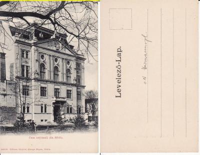 Sibiu, Hermannstadt - Casa Nationala-  Rara, clasica foto