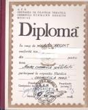 bnk fil Diploma Expozitia filatelica Cosmofila 1982 Medias