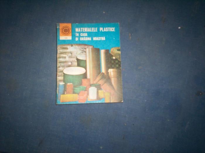MATERIALE PLASTICE IN CASA SI GRADINA NOASTRA foto mare