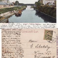 Timisoara - clasica, rara - Carte Postala Banat pana la 1904, Circulata, Printata