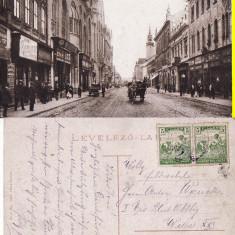 Oradea - animata - Carte Postala Crisana pana la 1904, Circulata, Printata