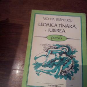 LEOAICA TANARA, IUBIREA  POEZII DE DRAGOSTE  NICHITA STANESCU