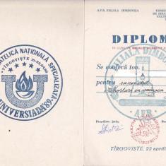 Bnk fil Diploma Expo fil nationala specializata Universiada 89 Targoviste